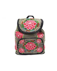 Rose Print BackPack