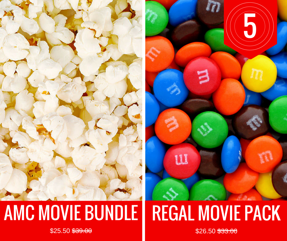 AMC Move Bundle Regal Movie Pack-2