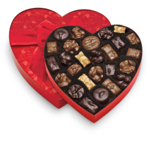See's Candies 1. Classic Red Heart, Nuts & Chews